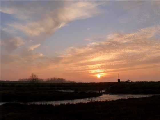 Thornham sunset March