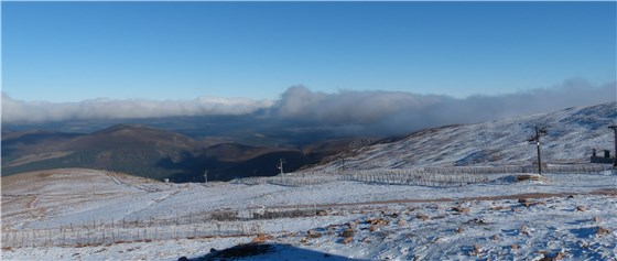 Cairngorm view top 3 Oct 1