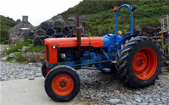 Porth Meudwy new tractor