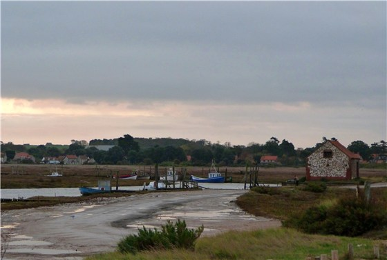 Thornham Harbour at first light