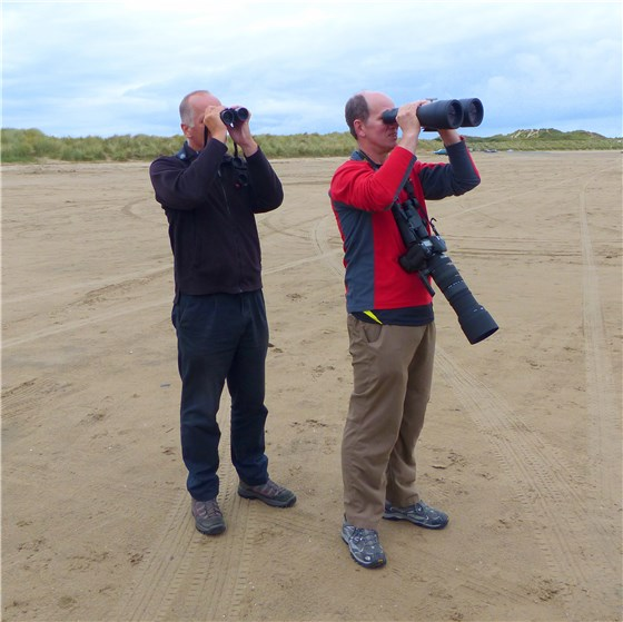 Alan and Nigel Ynyslas
