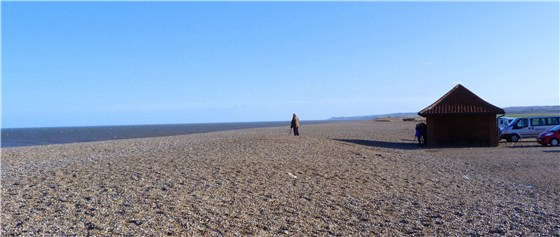 Cley beach Barry