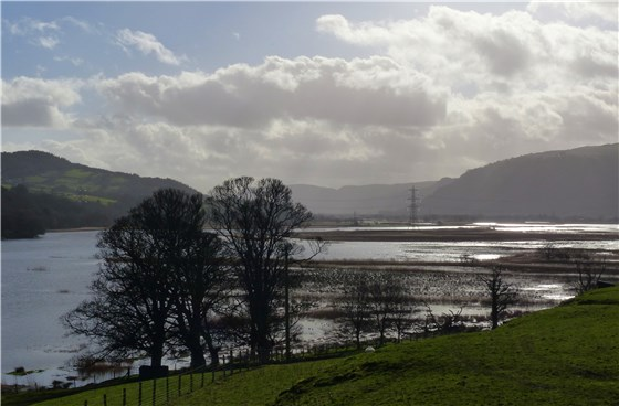 Conwy Valley flood