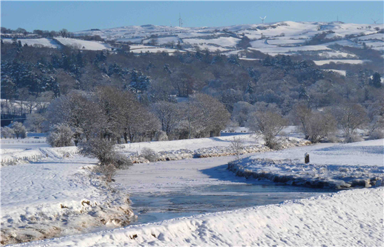 Frozen River Conwy