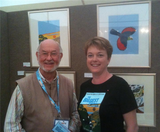 Robert Gillmor and Ruth